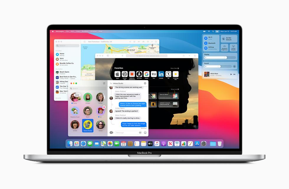 Tutte le novità di macOS Big Sur