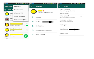 Massage Backup In WhatsApp - Phone Reader Kashi