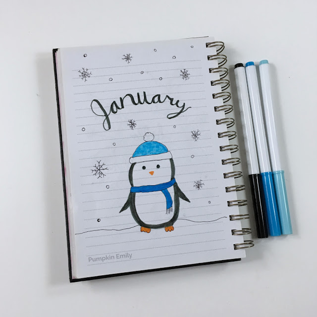 January Journal Cover Page