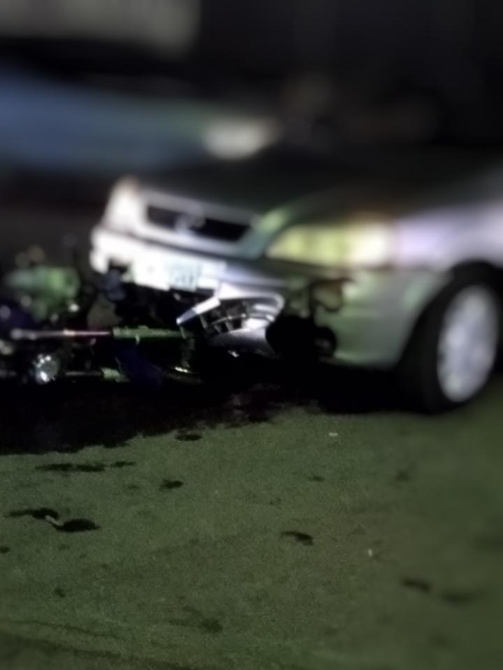 Το τροχαίο ατύχημα έγινε στην Έξω Παναγίτσα