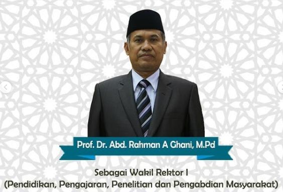 Pelantikan Prof. Dr. H. Abd. Rahman A. Ghani, SH. M.Pd. Sebagai Wakil Rektor I UHAMKA tahun 2019-2023