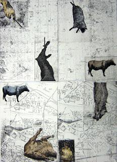 Taller la Estampa, grabados de Carlos Marin