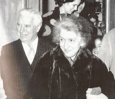 Чарльз Чаплин и Клара Хаскиль
