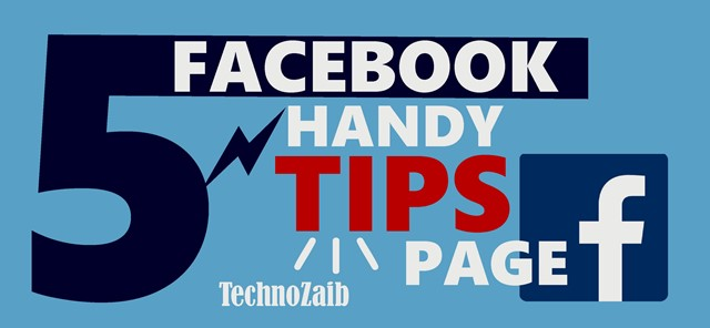 5 handy tips for your Facebook page