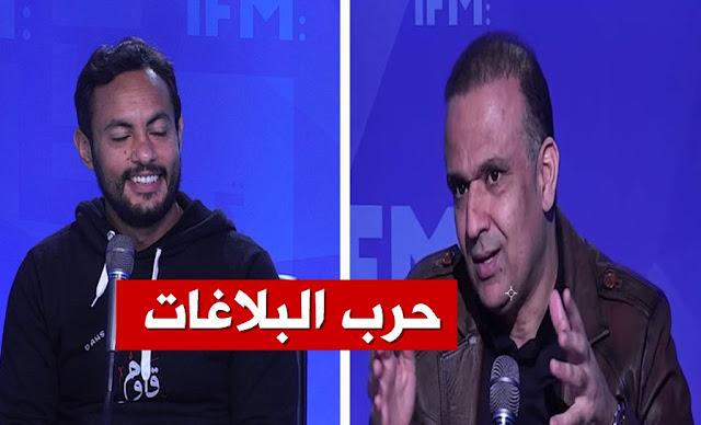 وديع الجريء يرد علي أشرف العوادي wadie jary achref aouadi