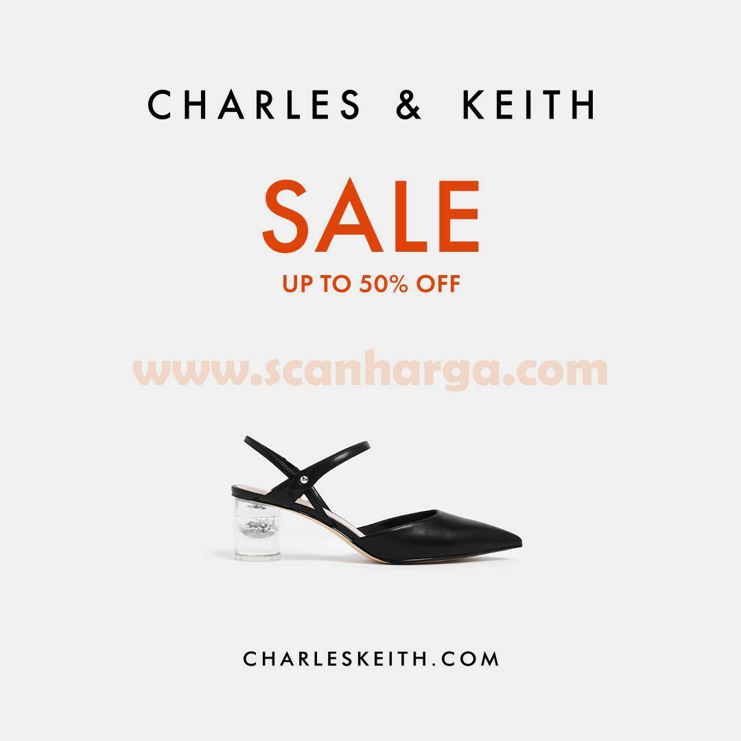 CHARLES & KEITH End Of Season SALE UP TO 50%
