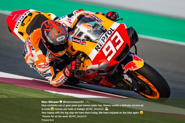 Only Honda is Ready to Perform in Qatar 2020 MotoGP Race