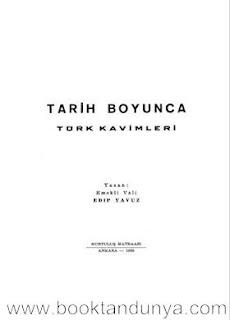 Edip Yavuz - Tarih Boyunca Türk Kavimleri