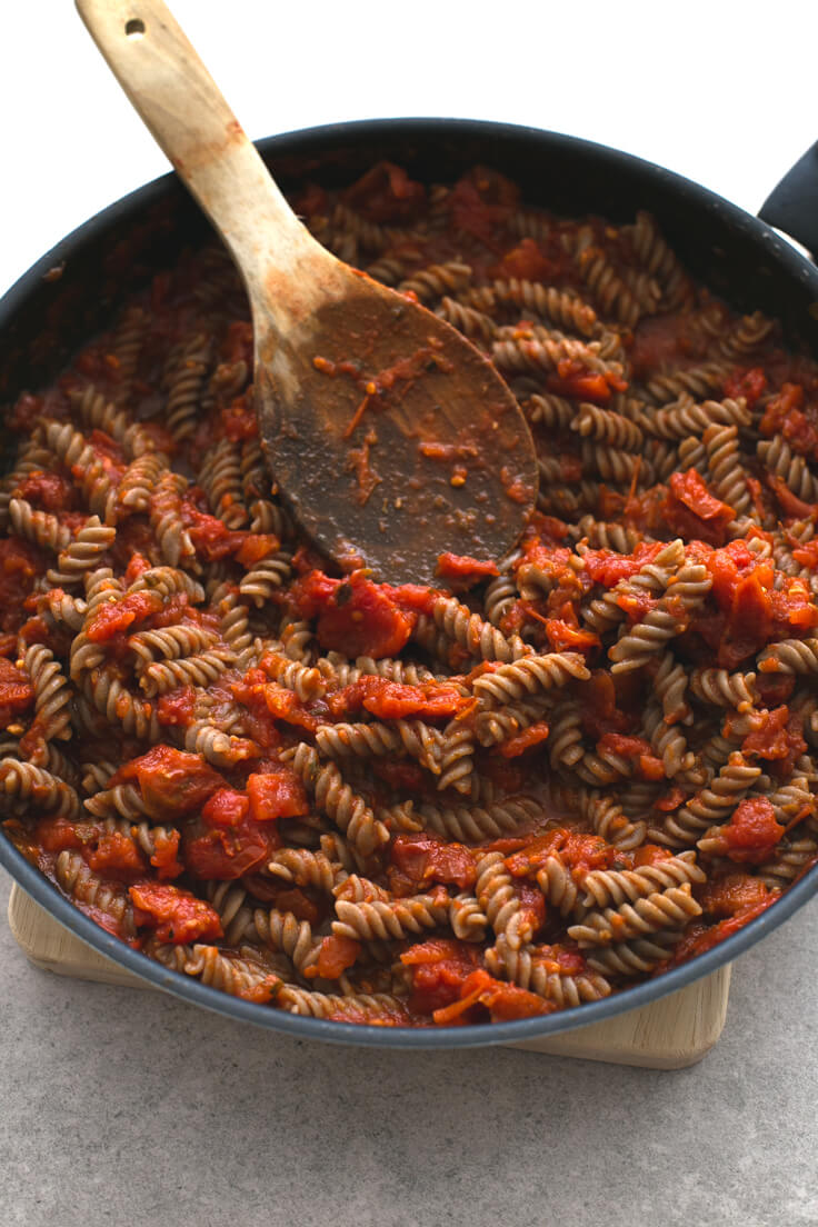 Arrabiata pasta: Arrabiata pasta is a straightforward and delicious recipe. It is a very spicy dish, typical of Italian cuisine, one of my favourite pasta.