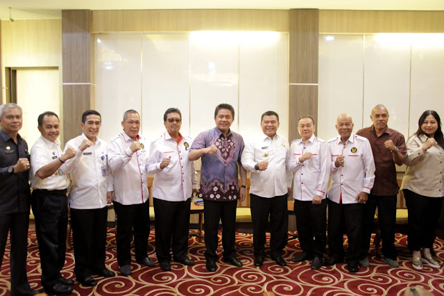 Gubernur Desak PELTI Sumsel Rutin Gelar Turnamen