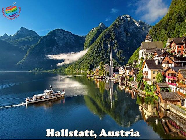 Hallstatt, Austria in Summer