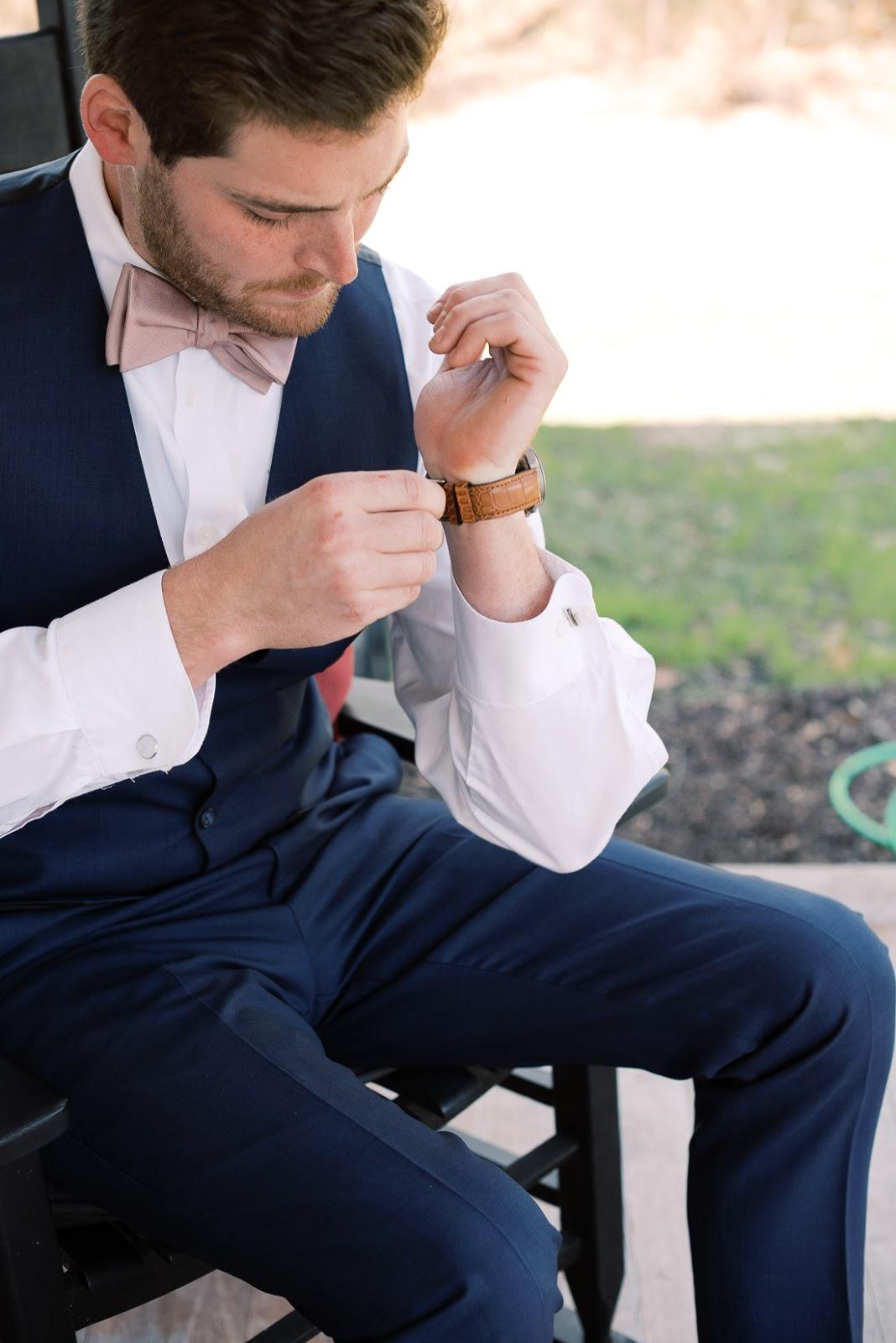 Hook and Gaff Watch Husband Wedding Gift - Chasing Cinderella