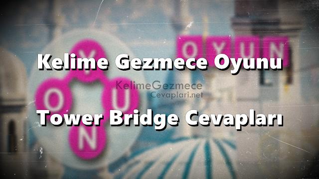 Kelime Gezmece Tower Bridge Fotoğrafı