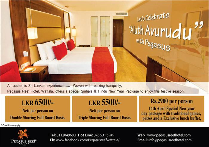 "Let's Celebrate ""Aluth Avurudu"" with Pegasus."