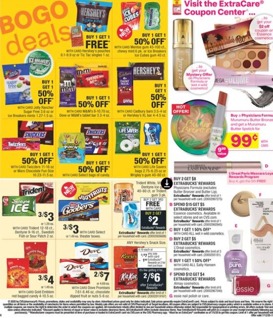 CVS Weekly Ad Preview 7/12-7/18