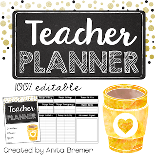 FREE download- teaching planner that is EDITABLE!
