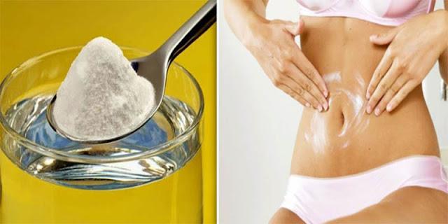 Bicarbonato de sodio Reducir la grasa del vientre, los muslos, los brazos y la espalda! 100% Resultados