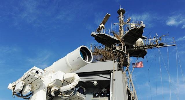 البحرية الأمريكية تختبر وحدة الليزر التكتيكية