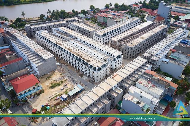 Tiến độ thi công Việt Phát South City