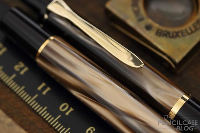 Review: Pelikan Classic M200 Brown Marble fountain pen
