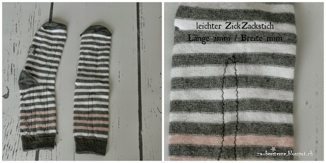 Affe aus Socke, Monkey Socks DiY