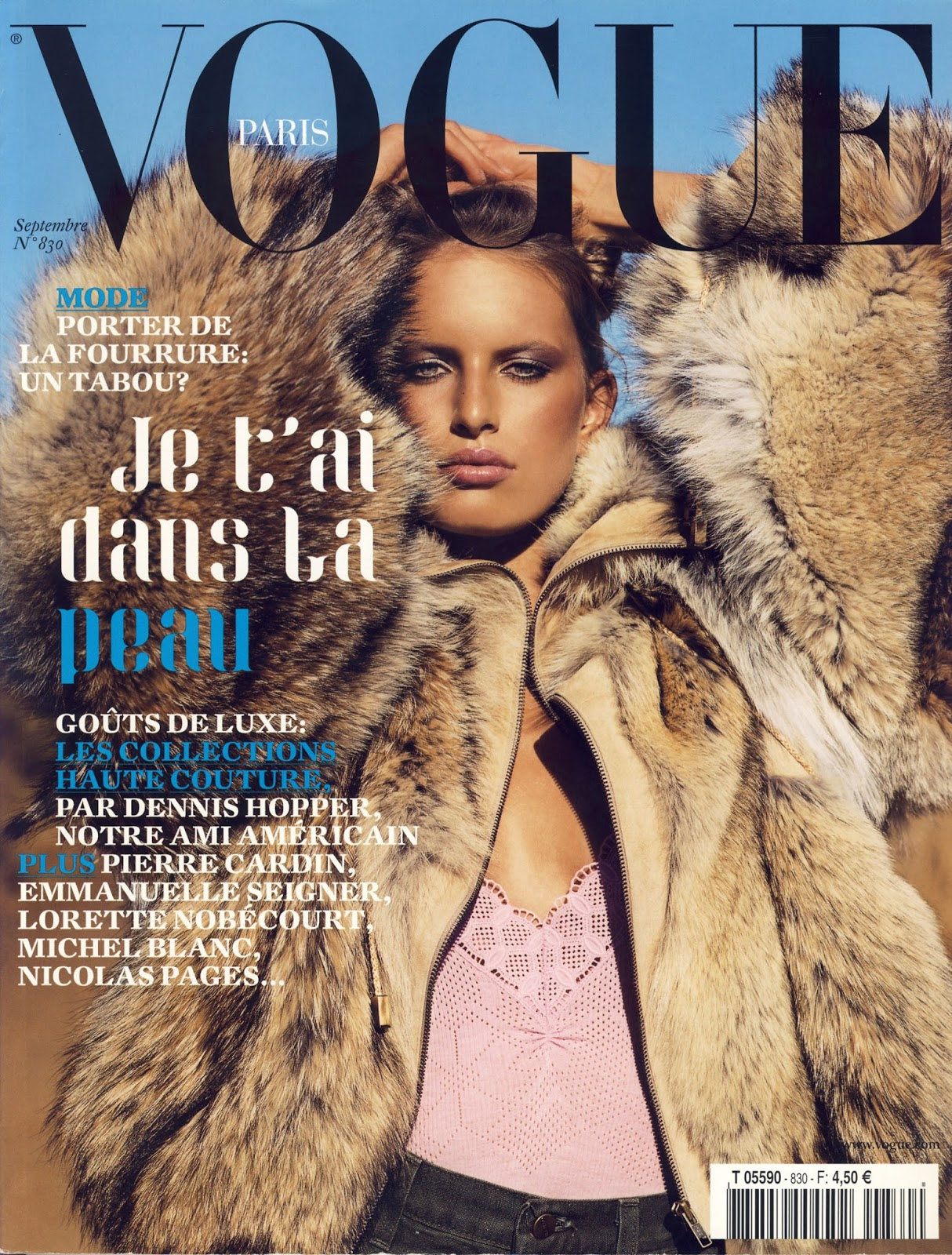 Vogue S Covers Gigi Hadid: Vogue's Covers: Karolina Kurkova