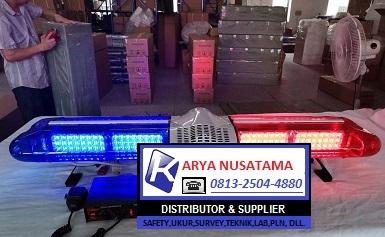 Jual Lampu Patwal Merah Biru LED di Pekanbaru