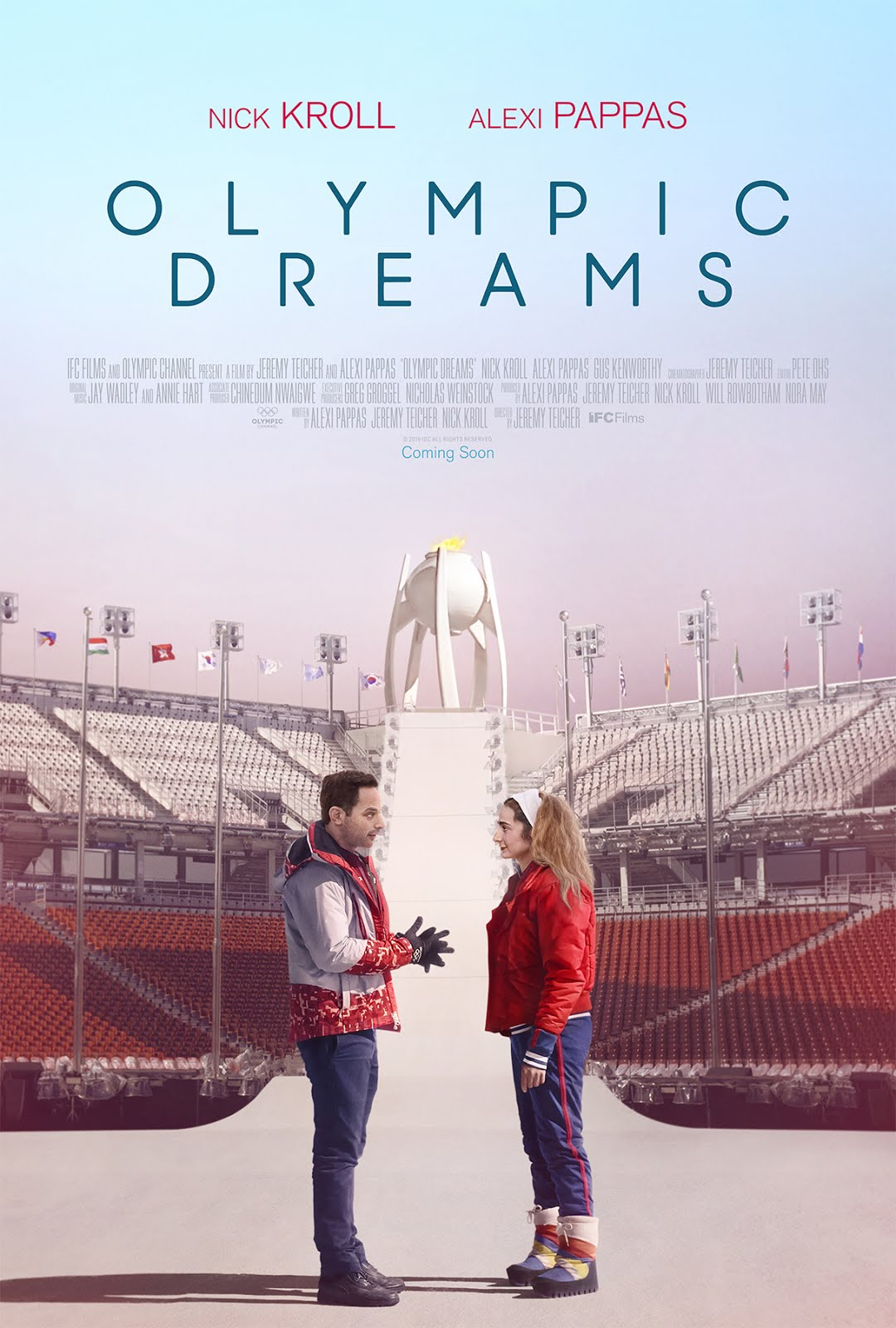 Olympic Dreams (2019) English 250MB WEBRip 480p