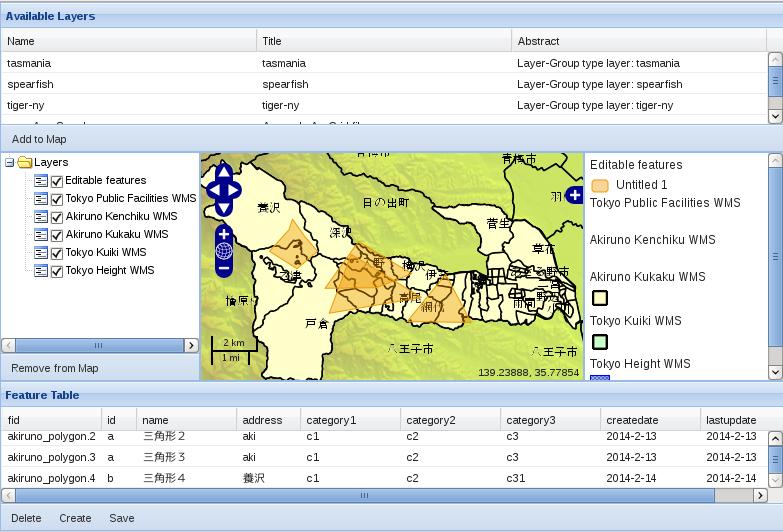 Debianでka-Mapのメモ プラスOpenLayers とGeoExt: 2月 2014