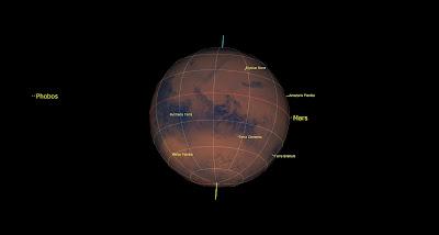 Mars in Starry Night Pro 8