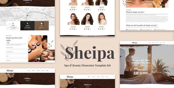 Spa & Beauty Elementor Template Kit
