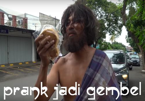 Prank Jadi Gembel