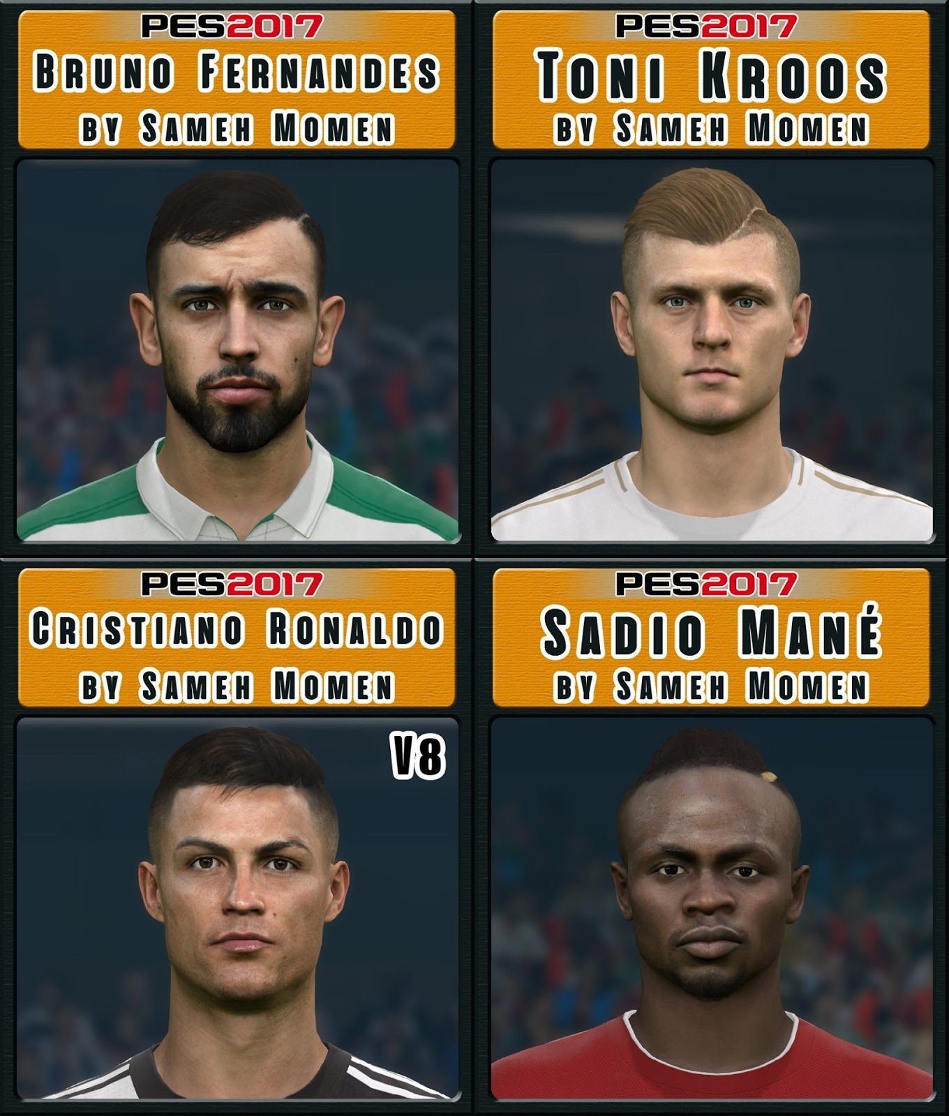 Pes 2017 L Moura Face By Sameh Momen: PES 2017 Facepack May 2019 By Sameh Momen