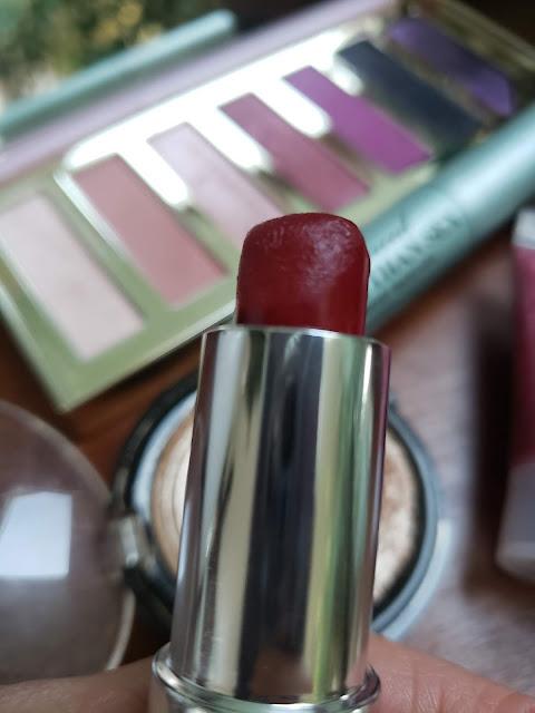 Zoya matte velvet red lipstick