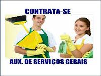 Auxiliar de Esterilização e Serviços Gerais