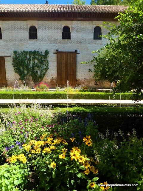 visitar los jardines del Generalife Granada