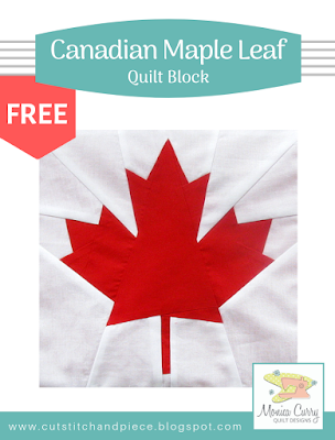 FREE - Canadian Maple Leaf Quilt Block Pattern