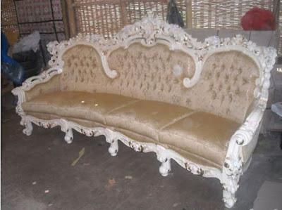 sofa ganesha mewah untuk ruang keluarga