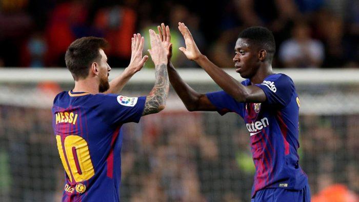 FC Barcelone: Messi reprend l'entraînement, Dembélé partiellement