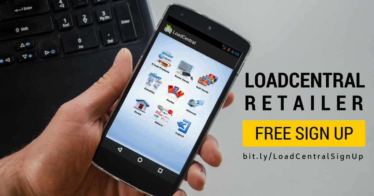 Register as a Loadcentral Retailer Free Sign up