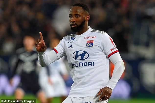 Man Utd target Moussa Dembele insists he 'will remain a Lyon player'