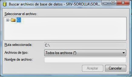 Guardar fichero resultados acción SQL Server