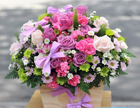 hoa tang sinh nhat me dep nhat