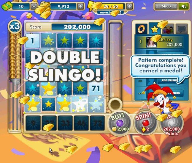 Super 7 Slingo