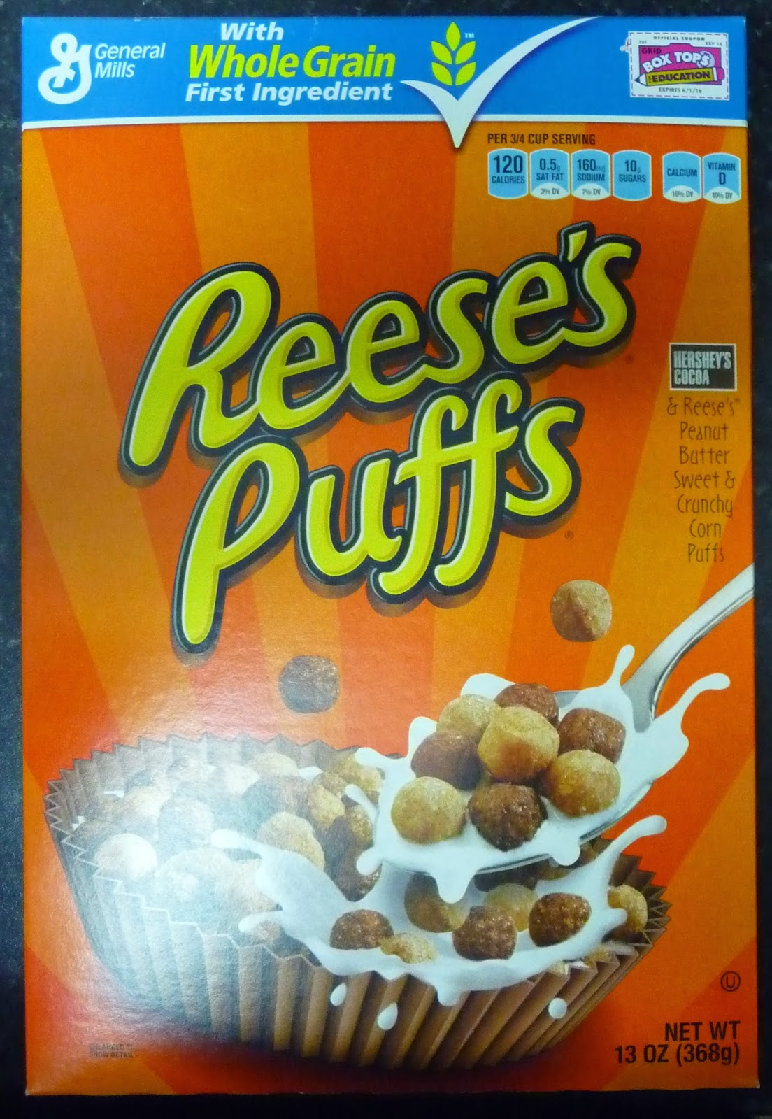 Something to look forward to: General Mills Reese's Puffs