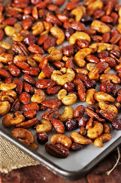 BBQ Roasted Mixed Nuts How to Make Image