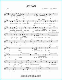 chord rose room 1 lagu jazz standar