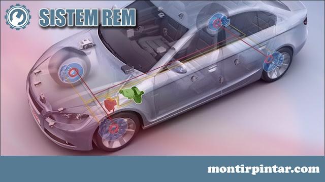 sistem rem pada mobil
