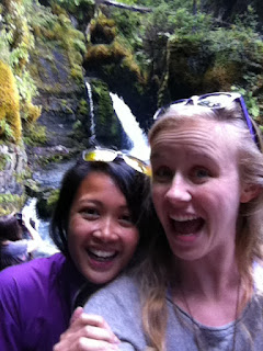 alaska waterfall hike