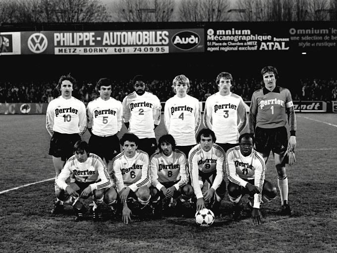 F.C METZ 1979-80.